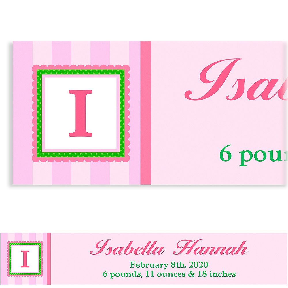 Nav Item for Custom Jumbo Initial Girl Banner Image #1