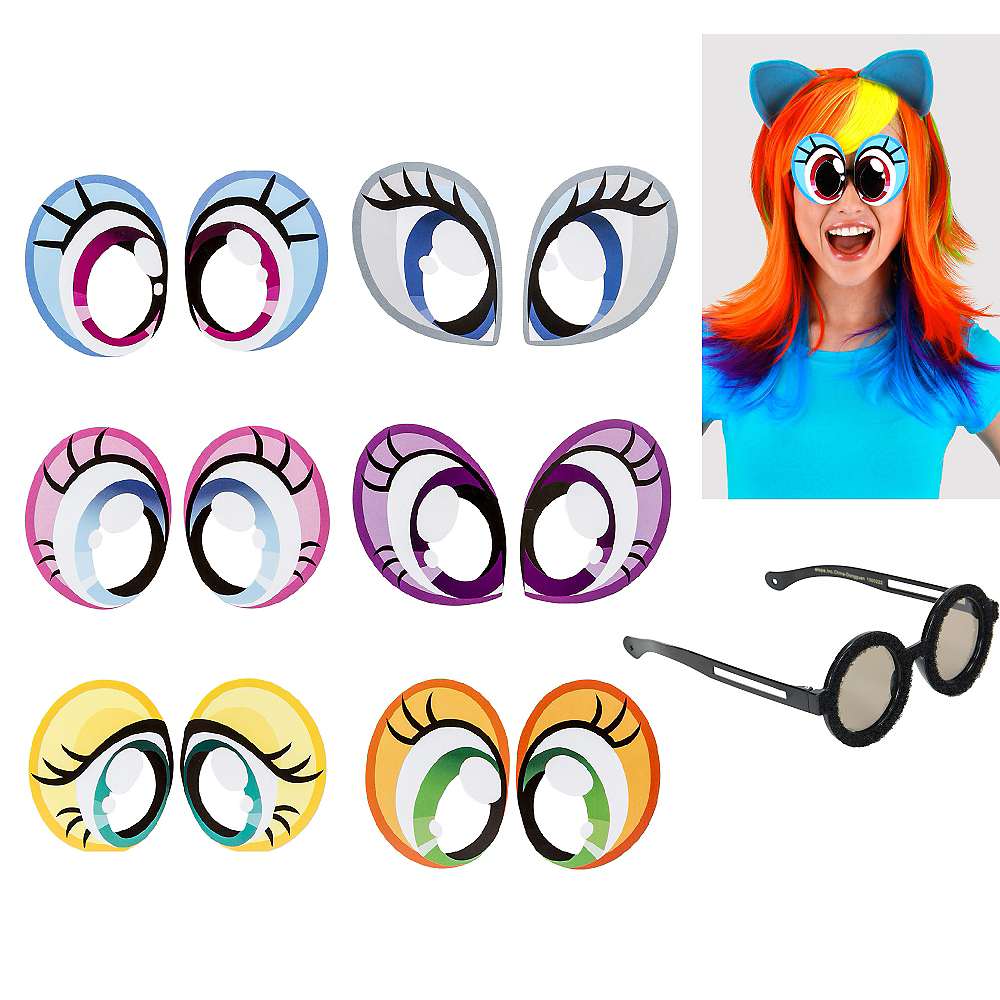 My Little Pony Cartoon Eyes 6ct Image #1