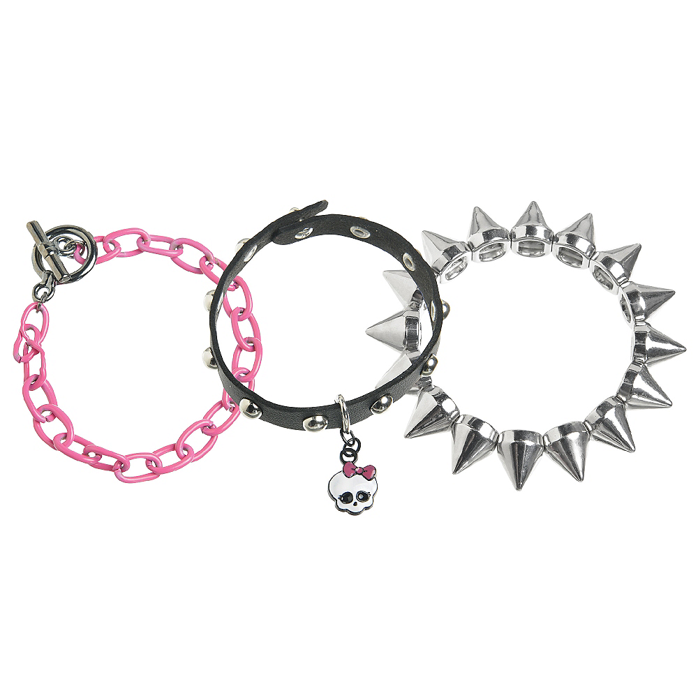 Monster High Bracelet Set 3ct Image #1