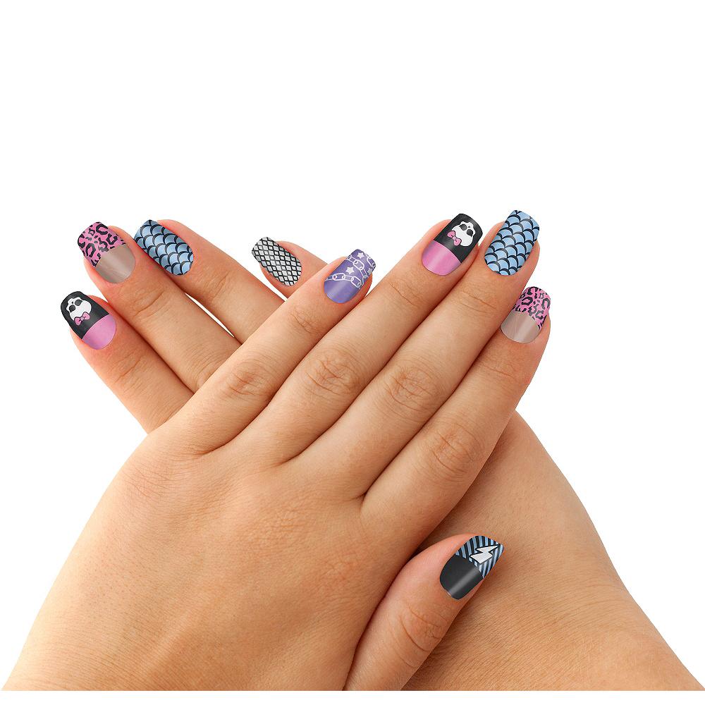 Monster High Nail Skins 12ct Image #1