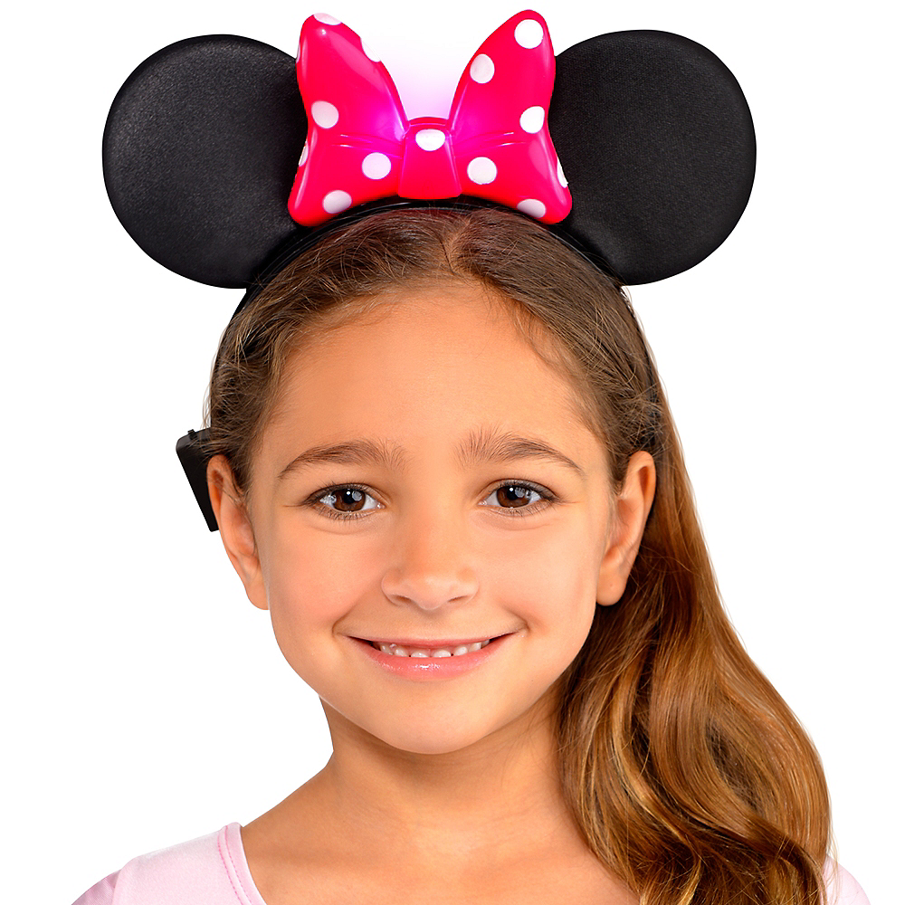 Minnie Mouse Light-Up Bow Headband Image #2