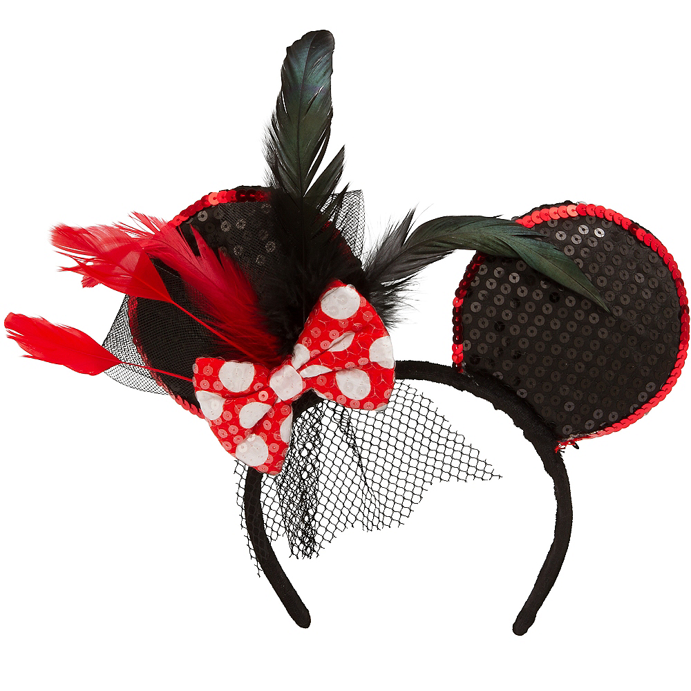 Minnie Mouse Fascinator Headband Image  1 ... 53cf8214741