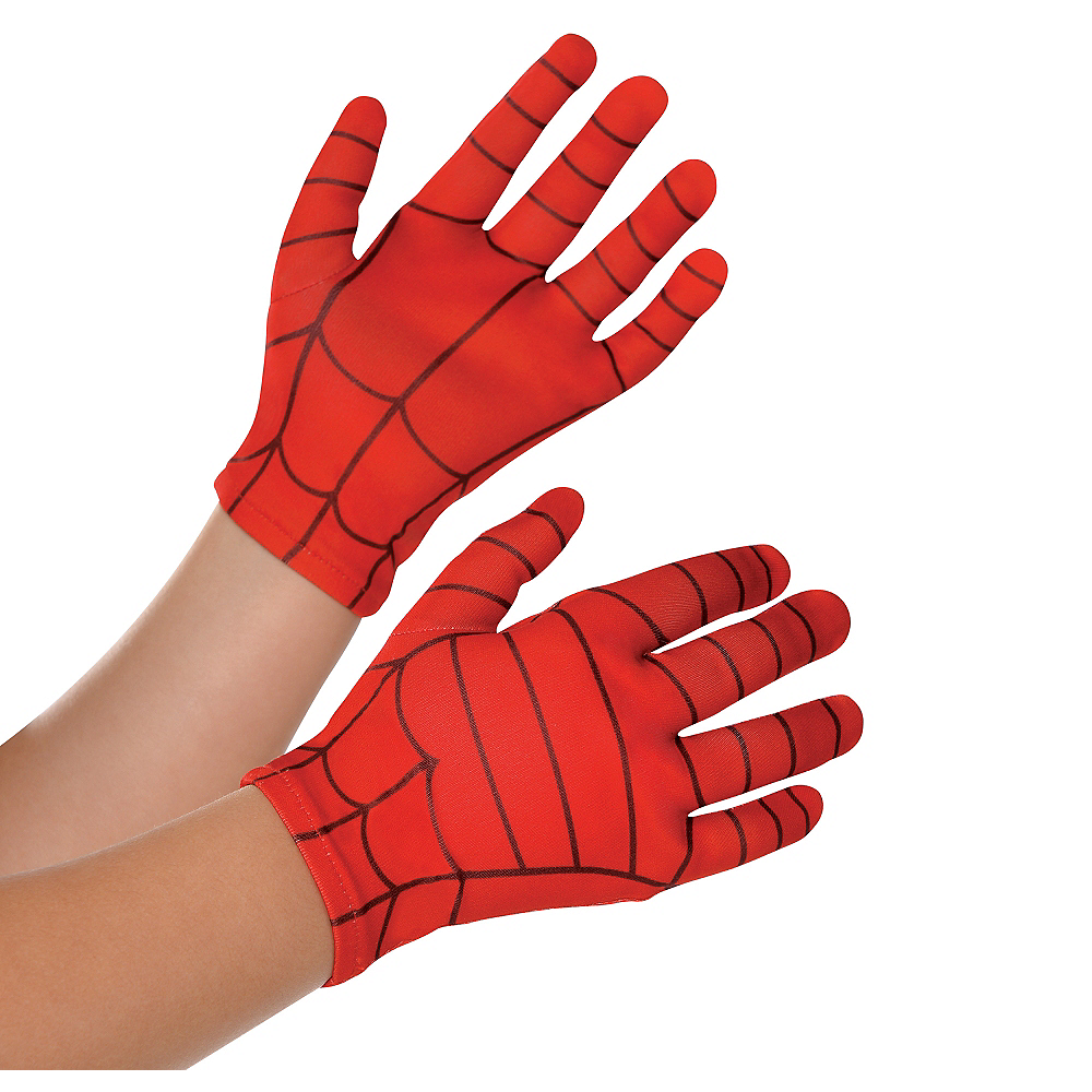 Child Spider-Man Gloves Image #1