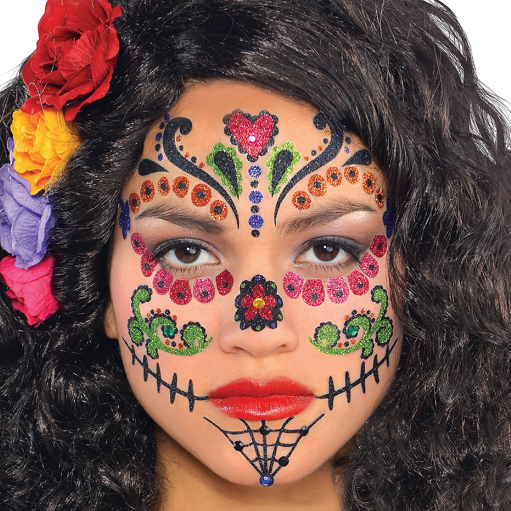 Nav Item for Day of the Dead Body Jewelry Pack Image #2