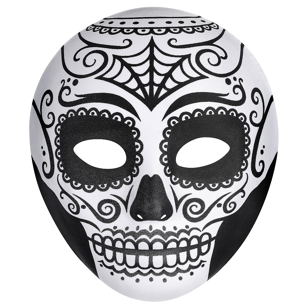 Day Of The Dead Face Mask