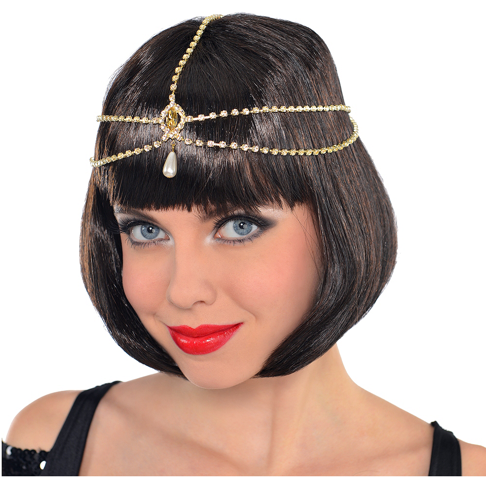Roaring '20s Head Chain Hair Jewelry Image #1