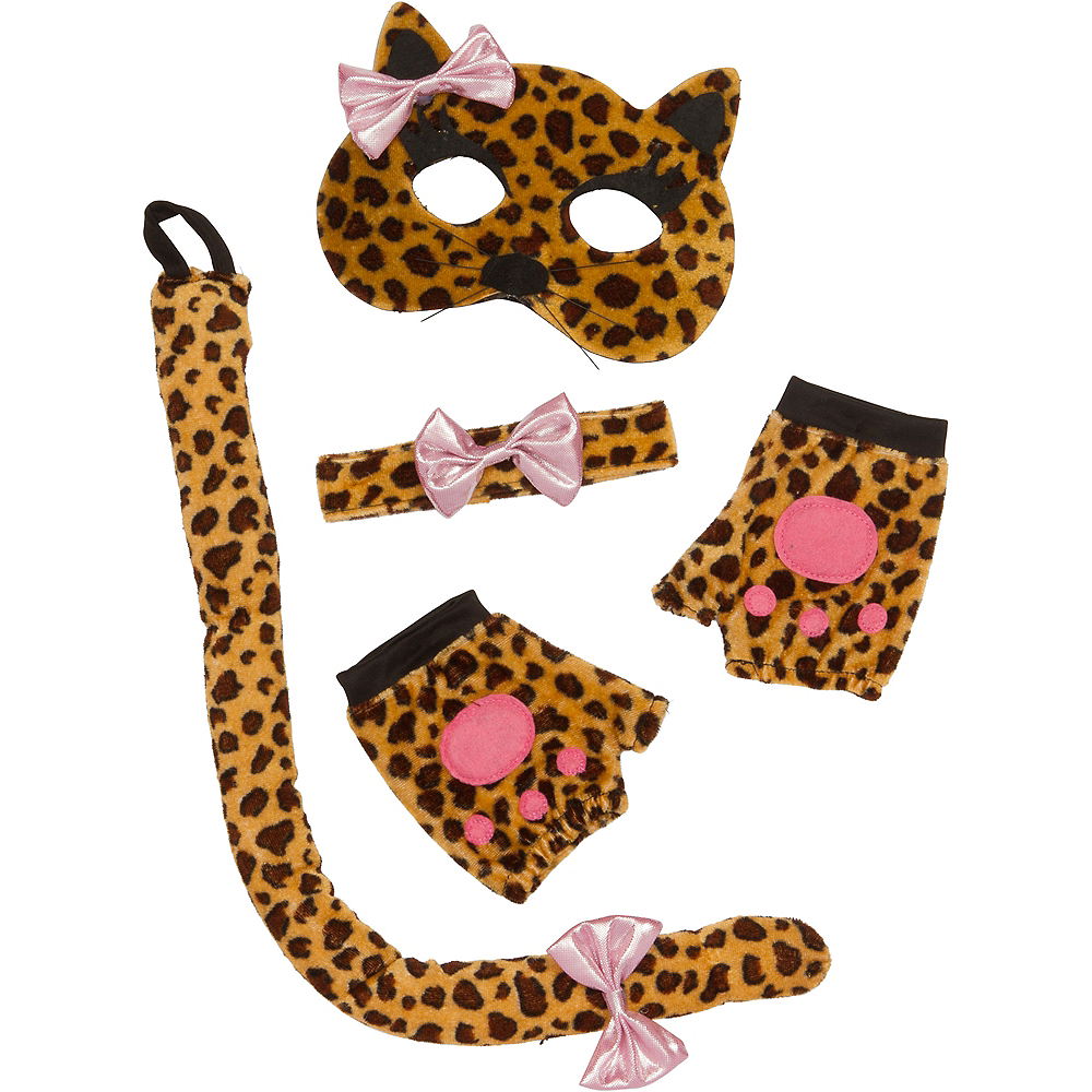 Nav Item for Child Leopard Accessory Kit 4pc Image #2