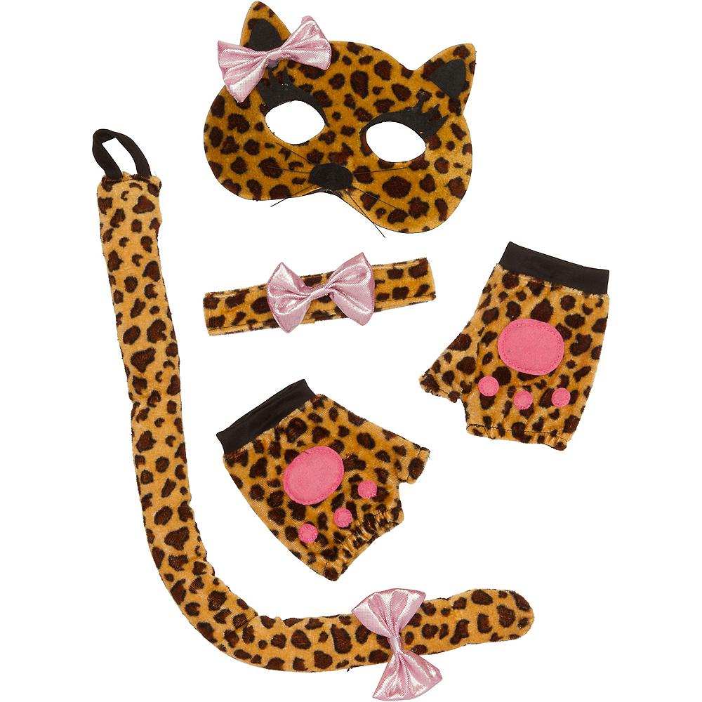 Child Leopard Accessory Kit 4pc Image #2