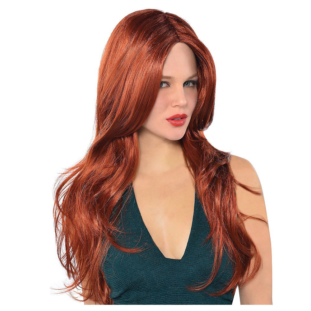 Hot Honey Red Wig Image #1