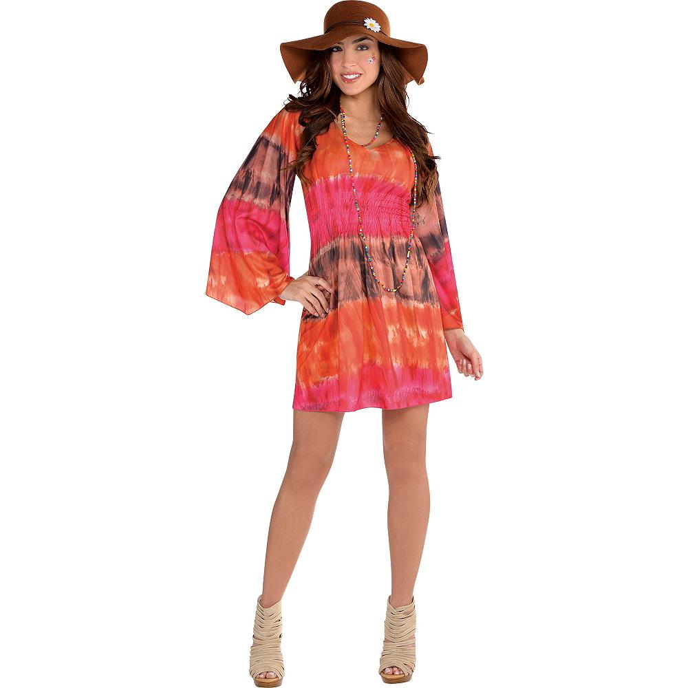 Festival Tie-Dye Dress Image #1