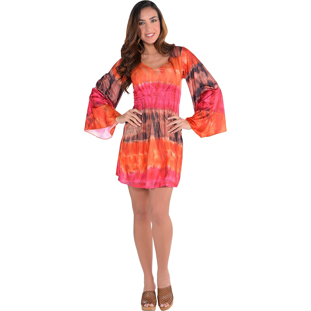 Festival Tie-Dye Dress Image #3