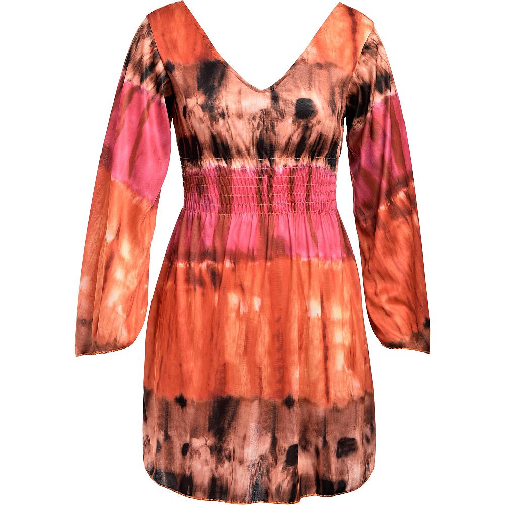 Festival Tie-Dye Dress Image #4