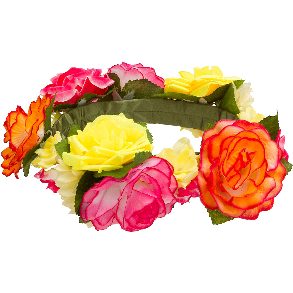 Flower Crown Headband Image #1