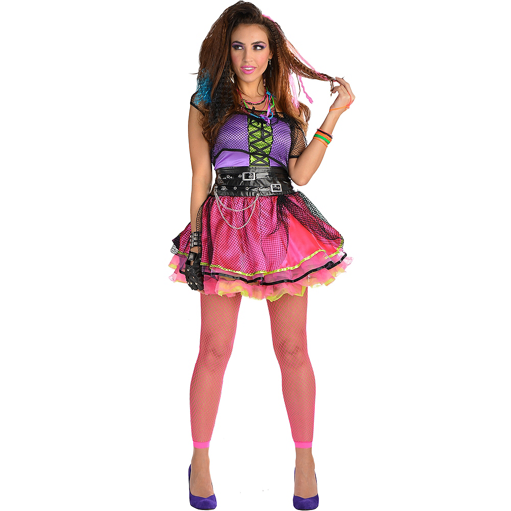 80s Pop Star Dress Image #1