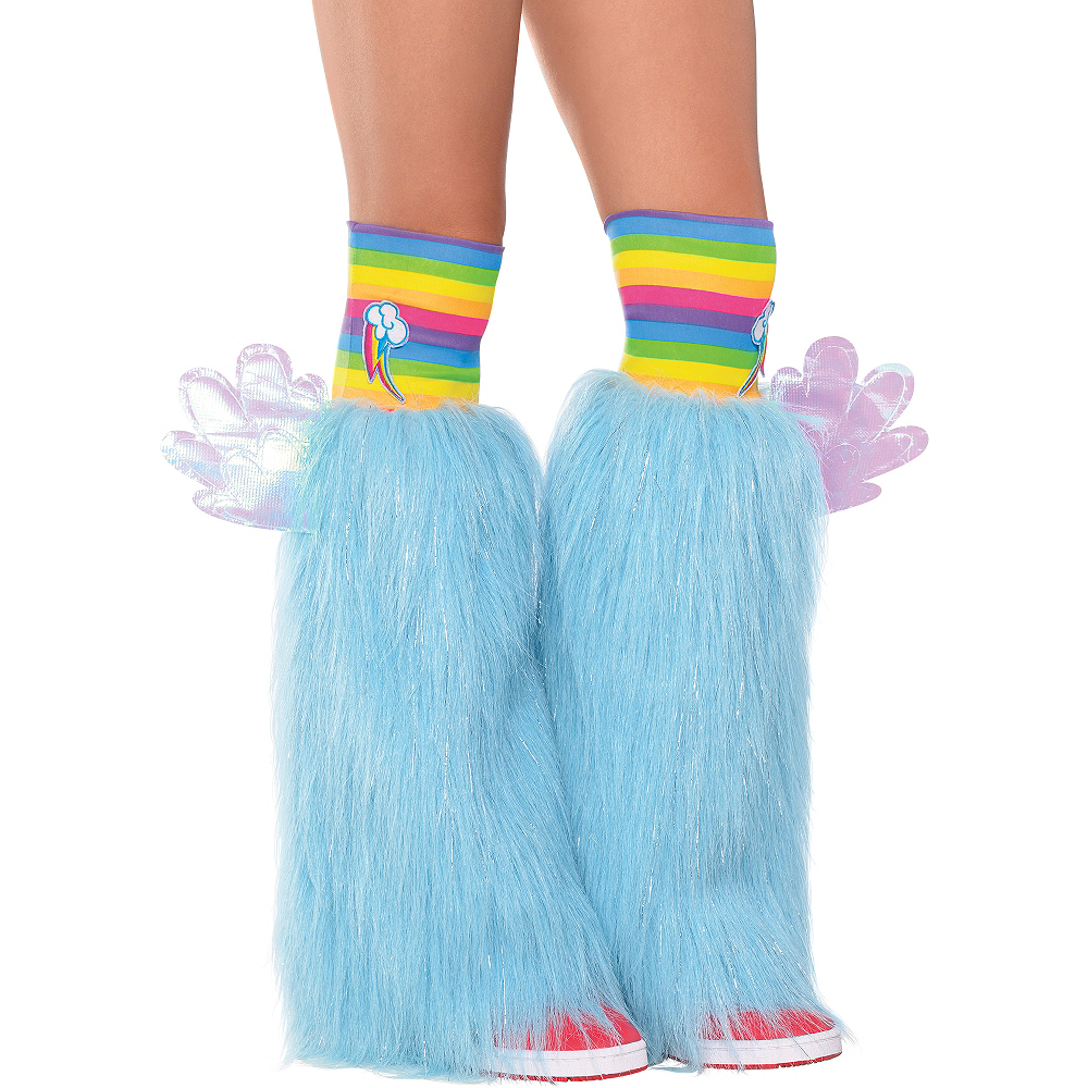 Rainbow Dash Furry Leg Warmers - My Little Pony Image #1