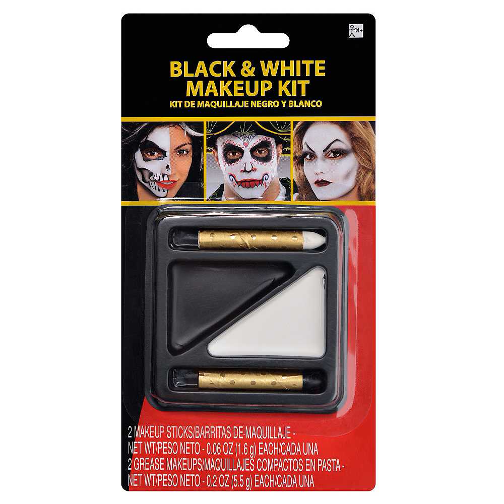 Black & White Makeup Kit Image #1