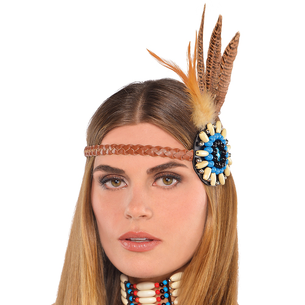 Dreamcatcher Feather Headband Party City