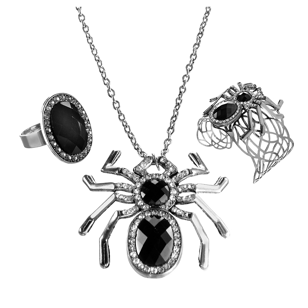 Spider Jewelry Set 3pc Image #1