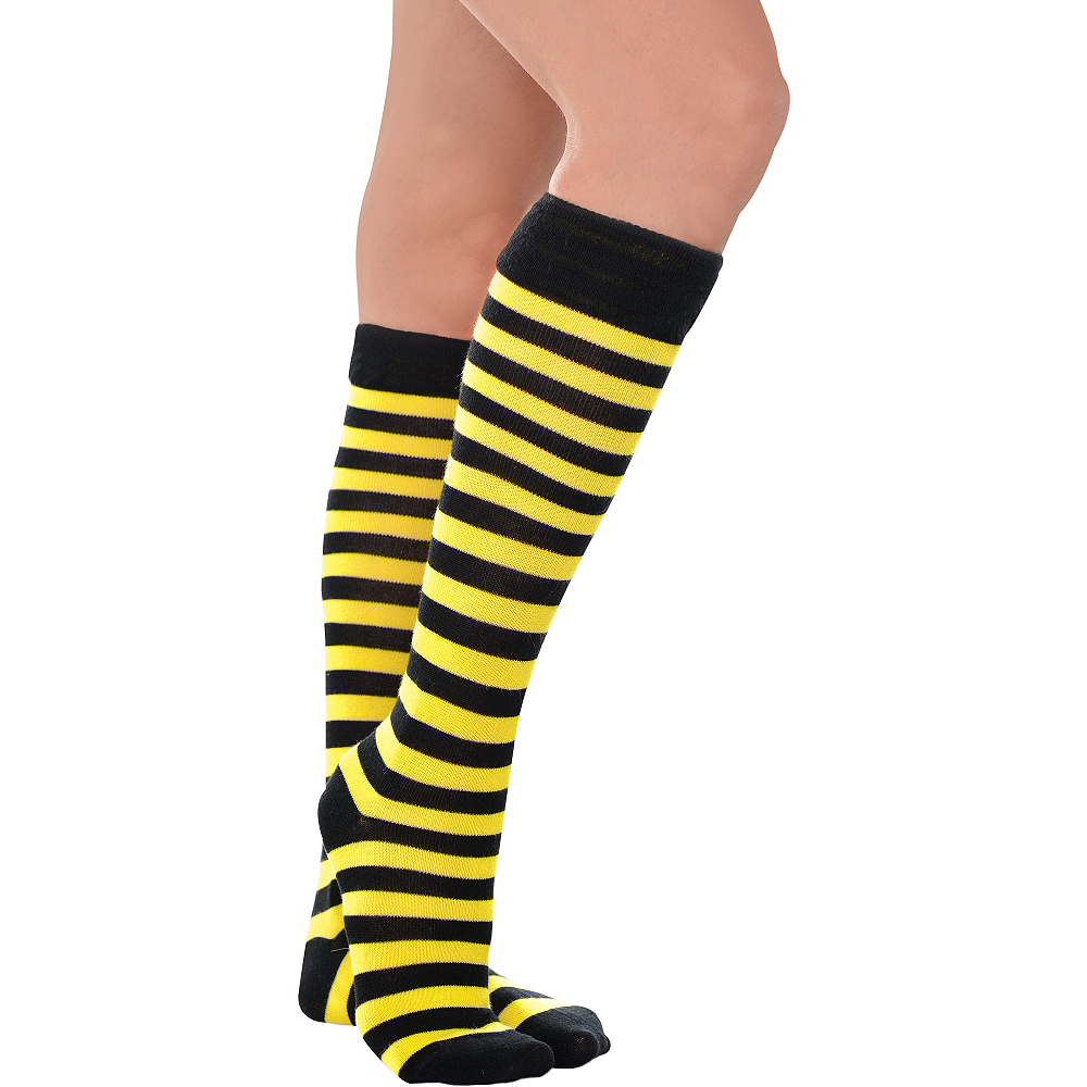 Nav Item for Bee Knee-High Socks Image #1