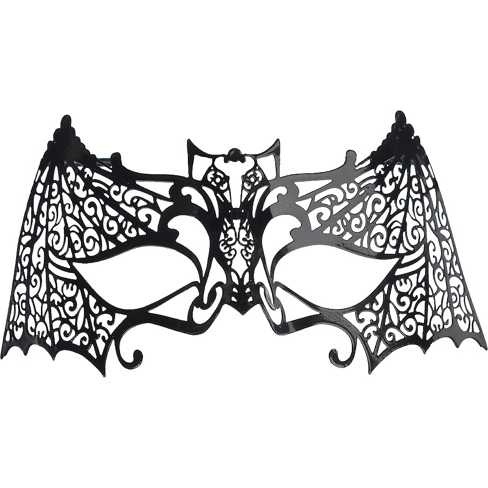 Filigree Bat Mask Image #1