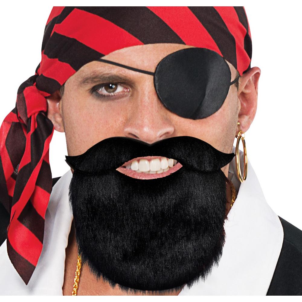 Pirate Facial Hair Set Image #1