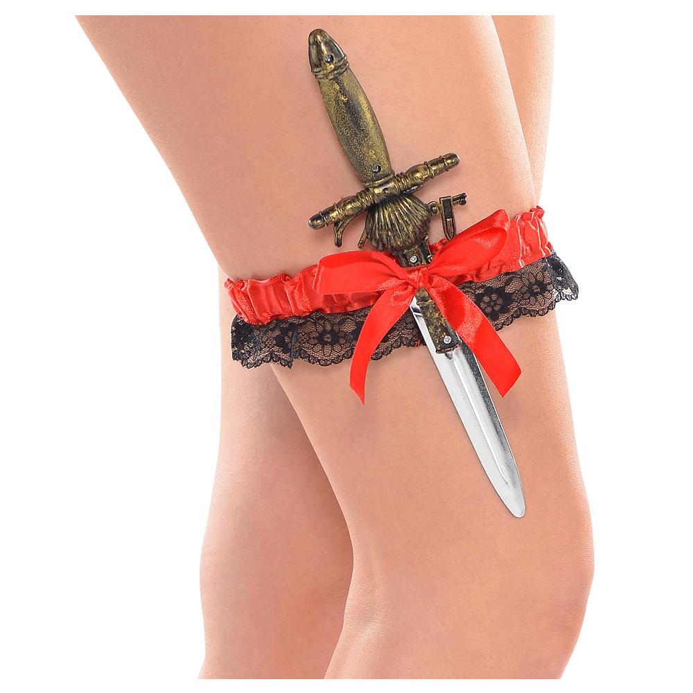 Pirate Leg Garter & Sword Image #1