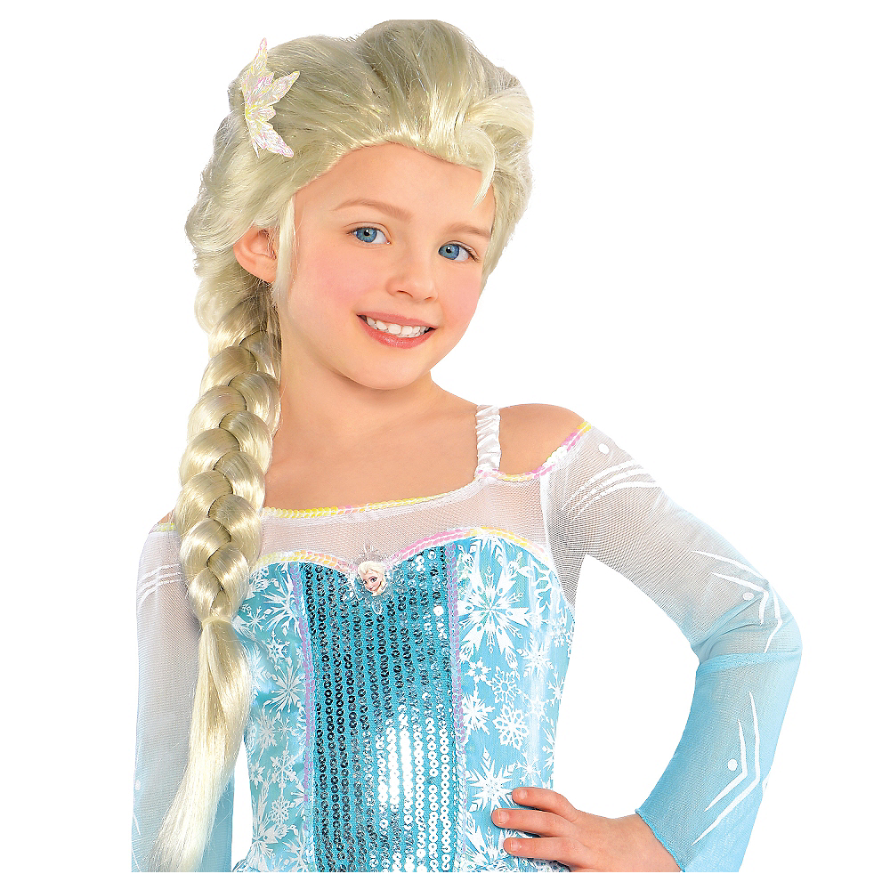 26f87ed4979 Child Elsa Wig - Frozen Image  1