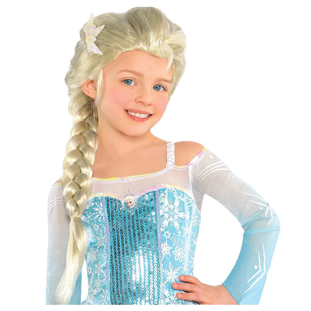 Child Elsa Wig - Frozen Image  1 a68586b82f97