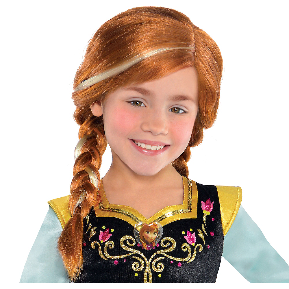 Child Anna Wig 20in Party City