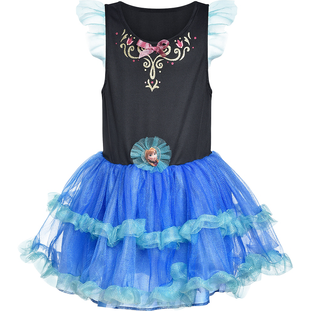 Nav Item for Girls Tutu Anna Dress - Frozen Image #4
