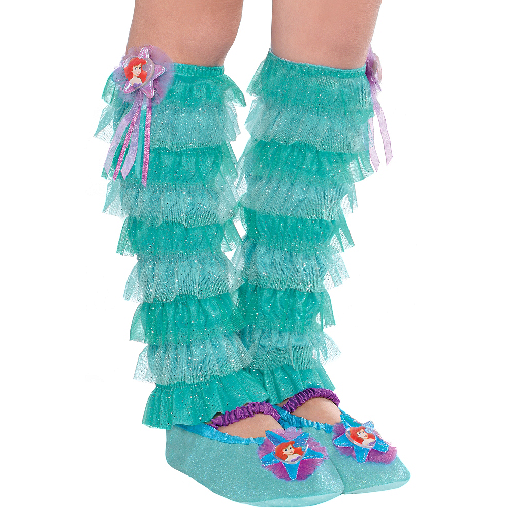 Child Ariel Leg Warmers - The Little Mermaid Image #1