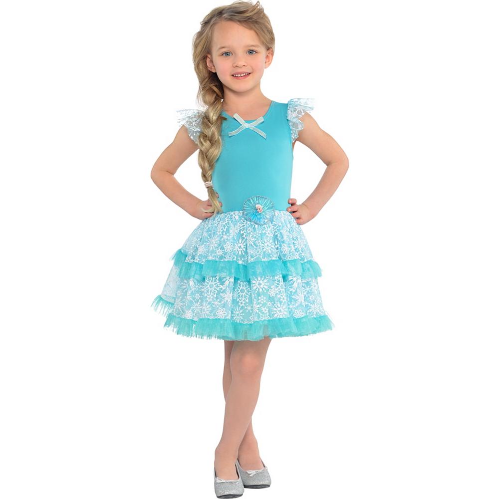 Girls Tutu Elsa Dress - Frozen Image #1