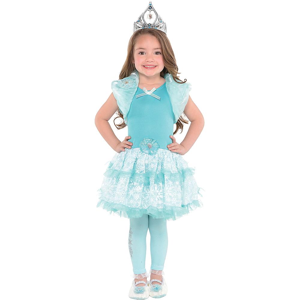Girls Tutu Elsa Dress - Frozen Image #2