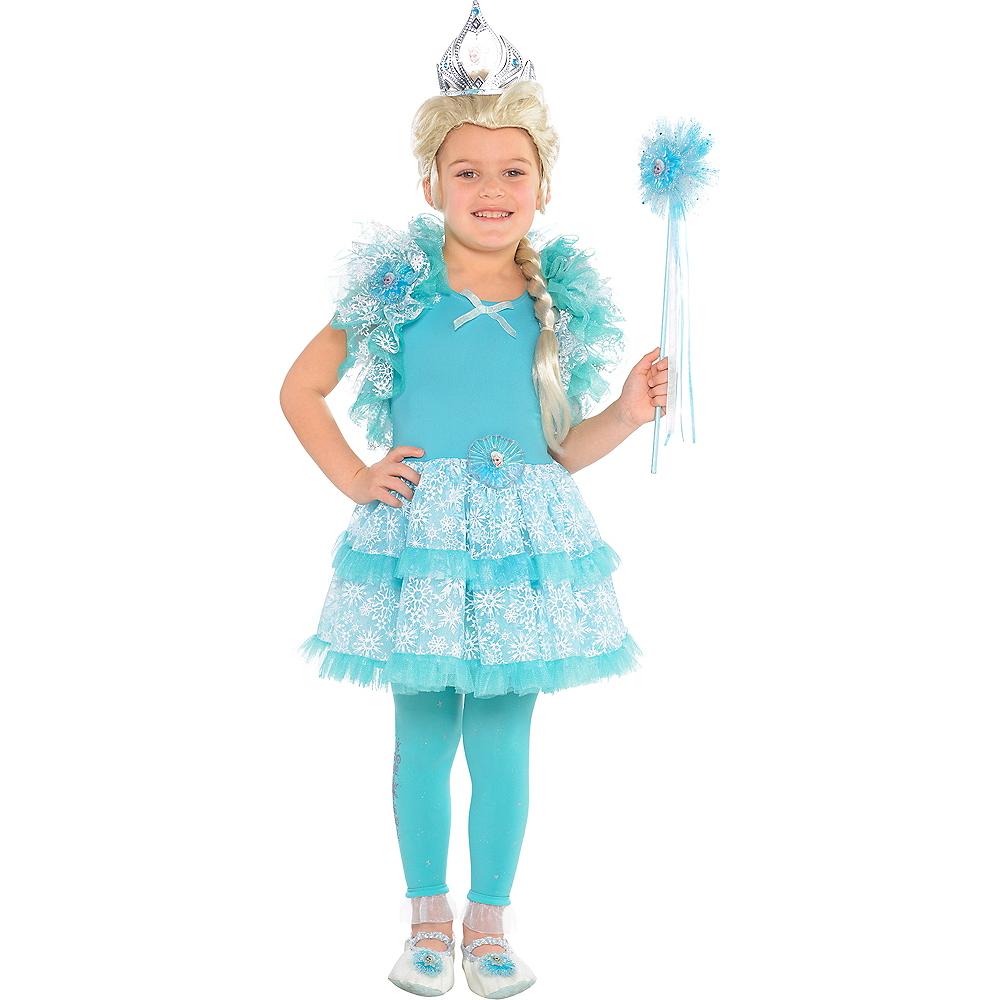 Girls Tutu Elsa Dress - Frozen Image #3