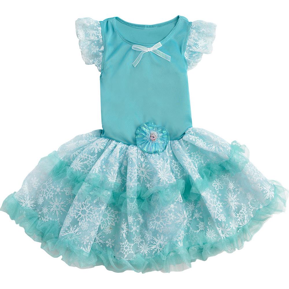Girls Tutu Elsa Dress - Frozen Image #4