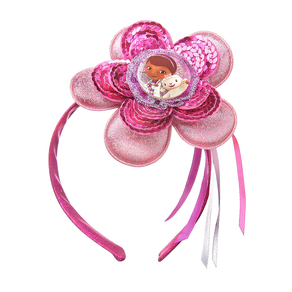 Flower Doc McStuffins Headband Deluxe Image #1