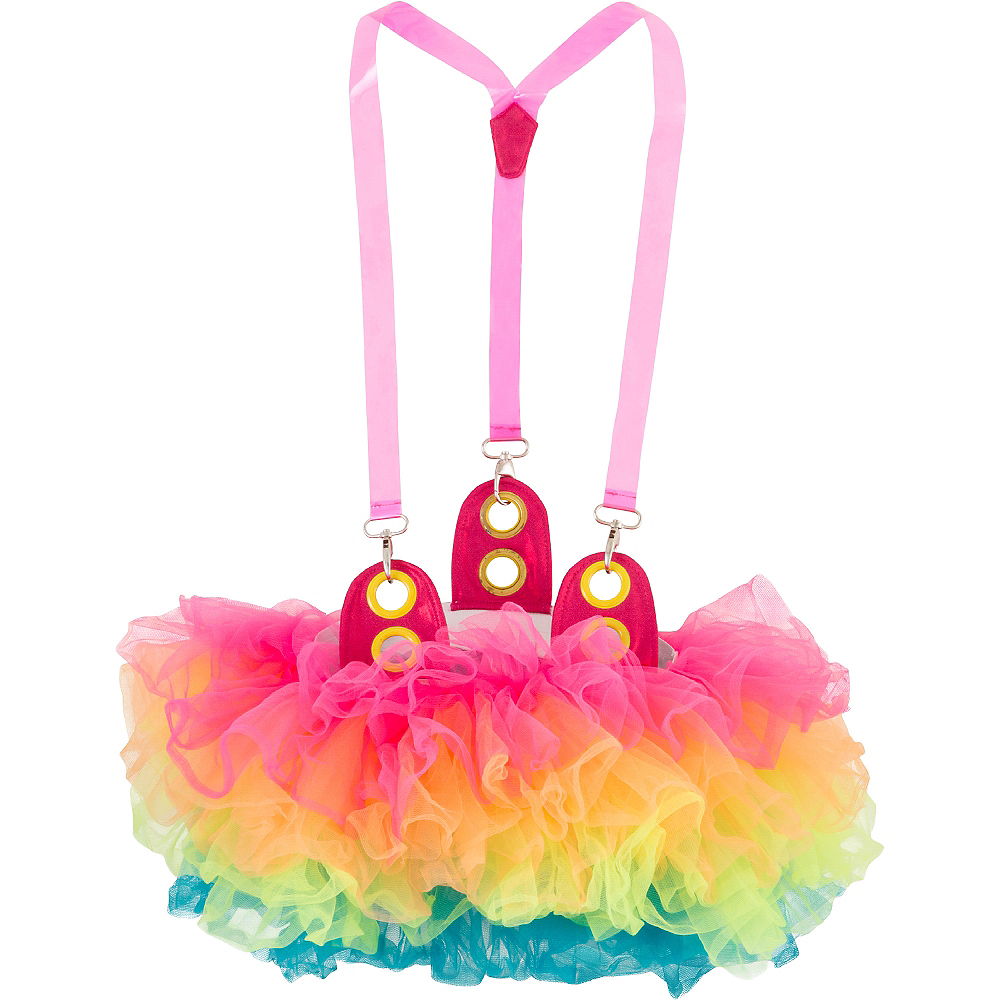 Electric Party Tutu with Suspenders Image #2