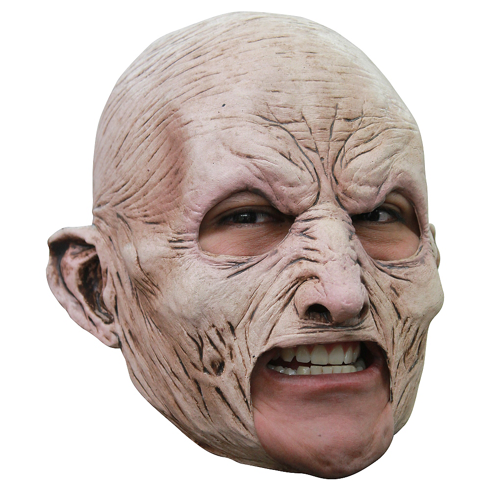 Chinless Zombie Mask - World War Z Image #1