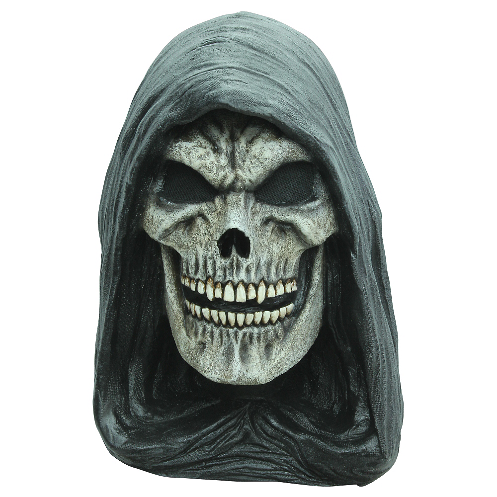 Hand Painted Grim Reaper Mask Image #1