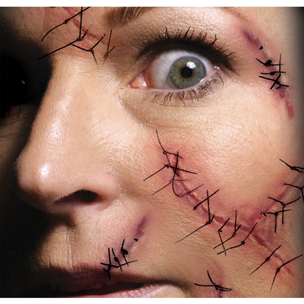 Staples & Stitches Face Tattoo Kit- Tinsley Transfers Image #1