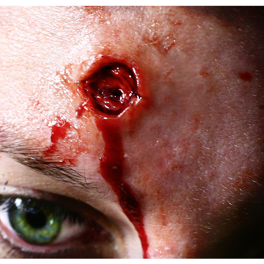 Capped Bullet Wound Prosthetics- Tinsley Transfers Image #1