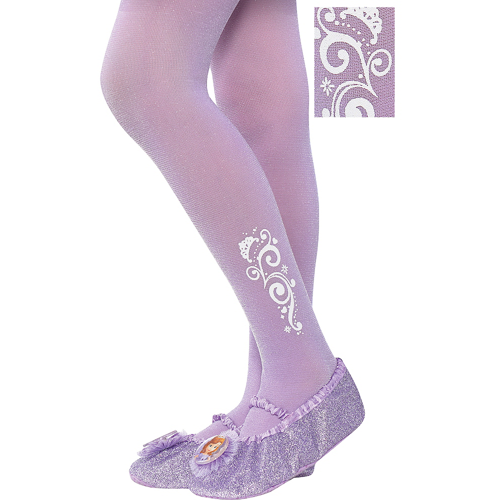 Child Sofia the First Tights Image #1