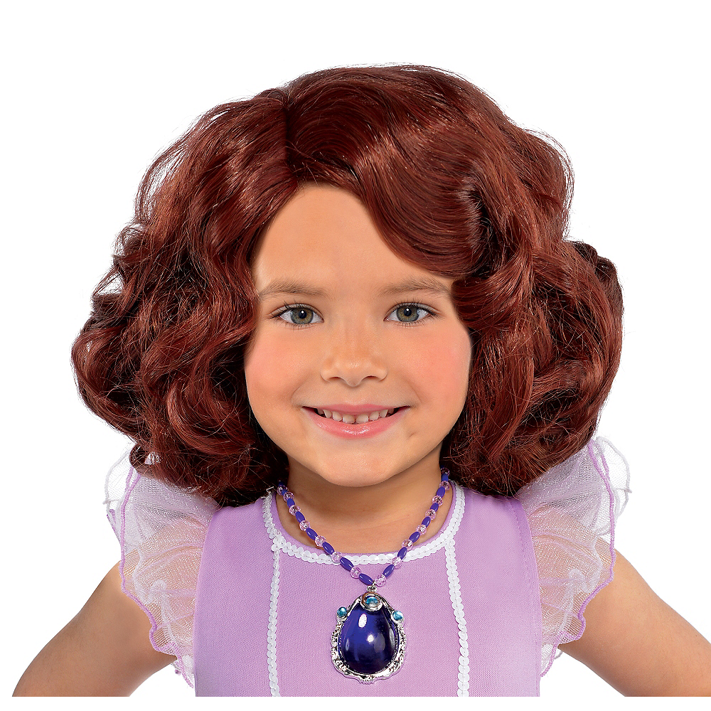 Child Sofia the First Wig Image #1