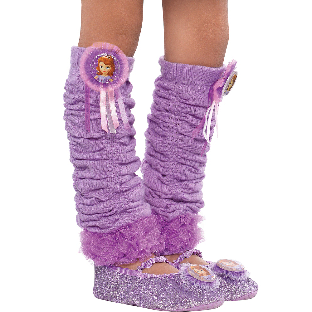 Child Sofia the First Leg Warmers Image #1