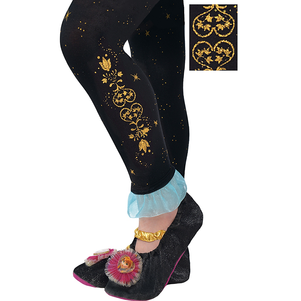 Child Footless Anna Tights - Frozen Image #1