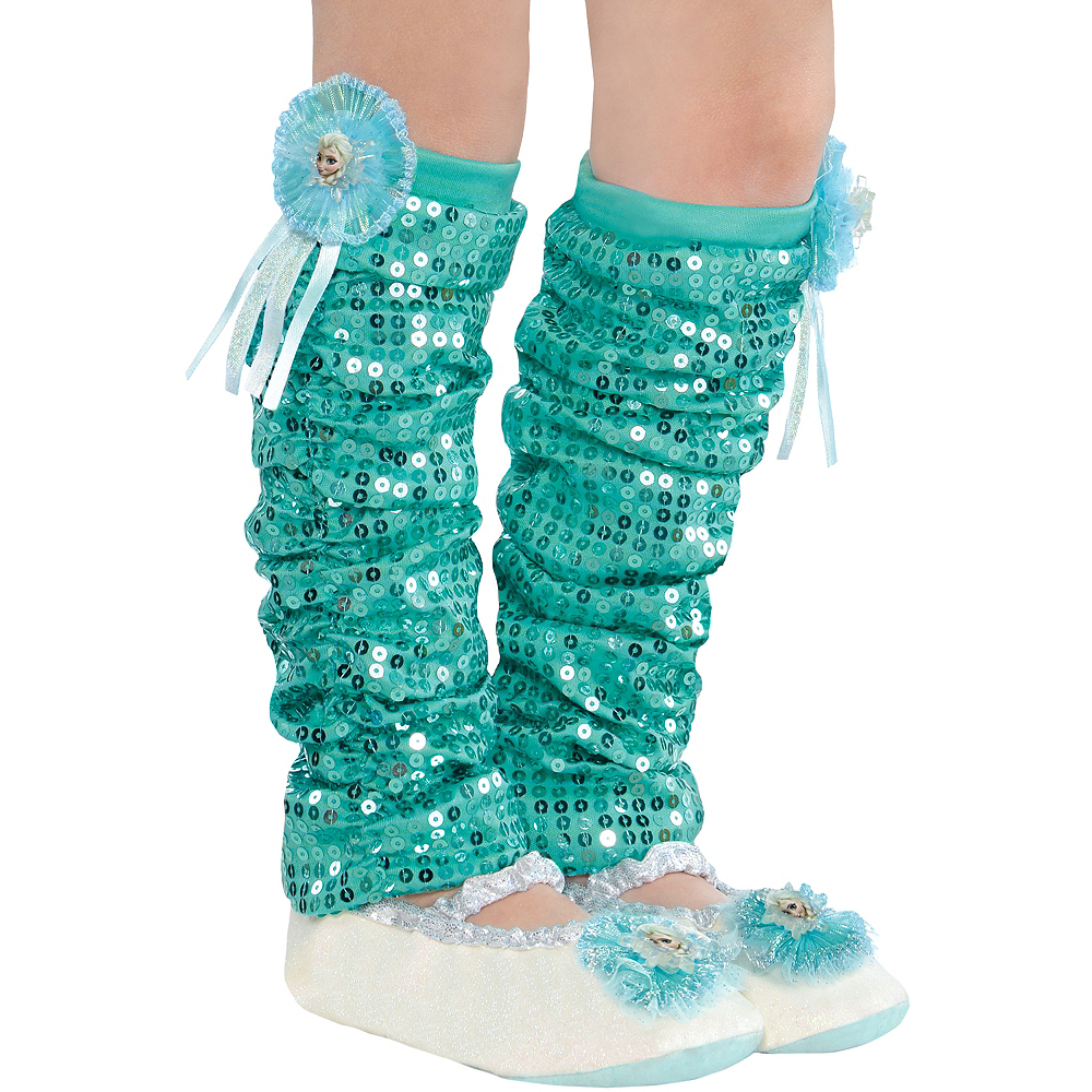 Child Elsa Leg Warmers - Frozen Image #1