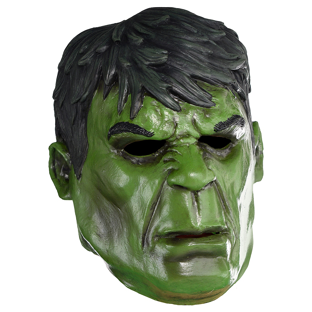 Hulk Mask Deluxe Image #1