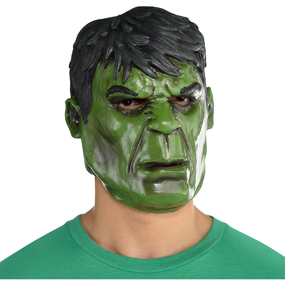 Hulk Mask Deluxe Image #2