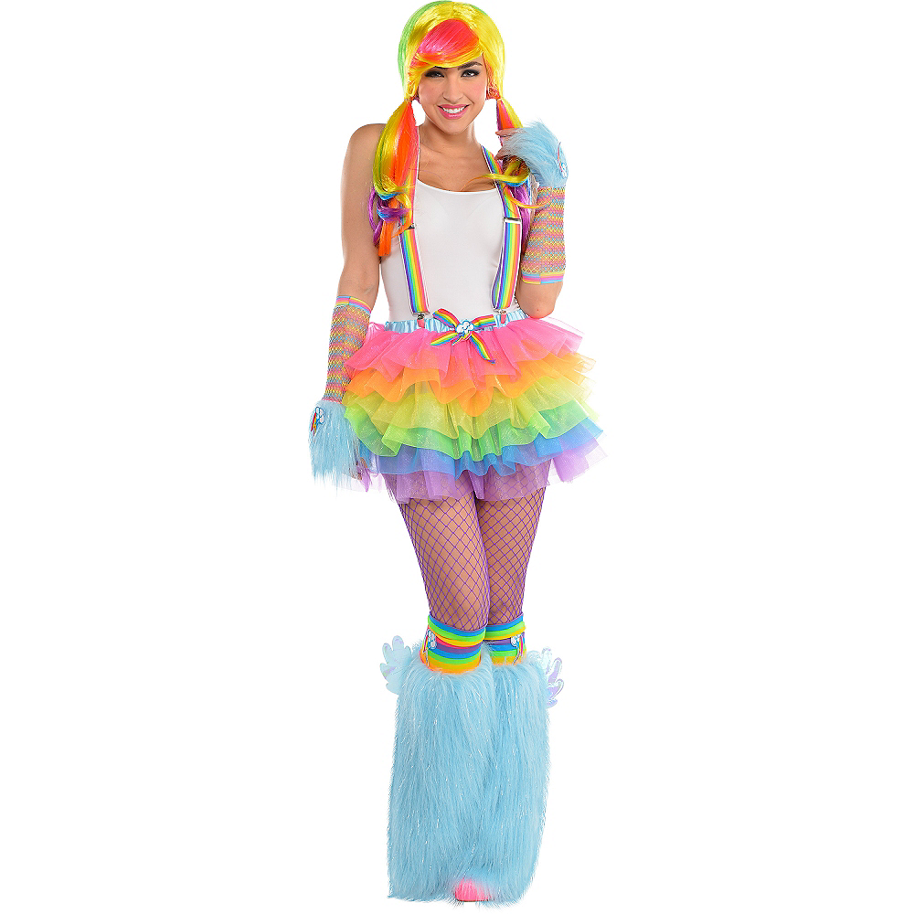 Adult Rainbow Dash Tutu - My Little Pony Image #2