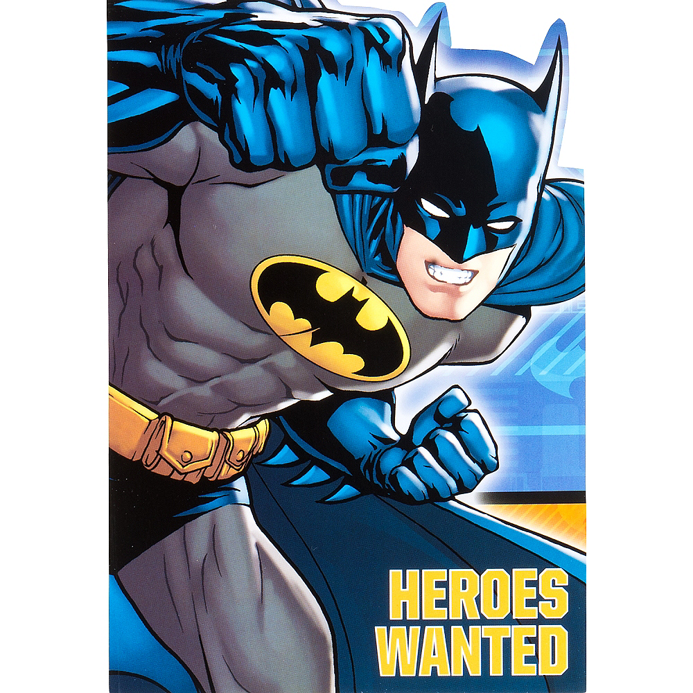 Batman Invitations 8ct Image #1